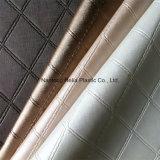 Cuoio artificiale del sofà del tessuto della mobilia del PVC di alta qualità