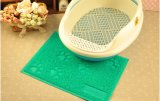 Cheap Price Non-Firm Backing Pet Cat Litter Trapping Mat PE Toliet Mat