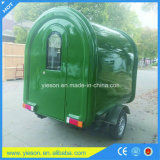 Camions mobiles de nourriture utilisés par remorque de cuisine de nourriture de la CE à vendre