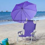 Зонтик пляжа струбцины ткани напольного пляжа высокого качества водоустойчивый
