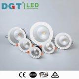 MAZORCA redonda aprobada 6W LED del Ce Downlight con el ciudadano/la viruta sostenida