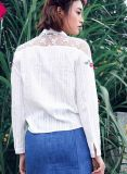 Embroidered Shirts, mode Colthing, Wts45804V de Madame