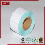 Papier thermosensible adhésif pour le constructeur sur un seul point de vente
