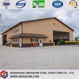 Edifício comercial de aço do frame portal para a loja da exploração agrícola de Sinoacme