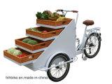 販売のためのアクリルボックス皿の貨物自転車