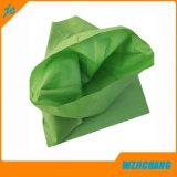 Verde reciclado PP bolsas de arena tejidas, bolsas de fertilizantes, bolsas de semillas, bolsa de basura