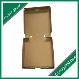 Levar embora caixa feita sob encomenda ondulada da pizza do papel de embalagem