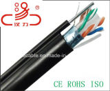 Kabel-Daten-Kabel-Kommunikations-Kabel-Verbinder-Audios-Kabel ftp-CAT6 4X2X23AWG 250MHz/Computer