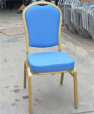 금 프레임 빨간 직물 금속 결혼식 연회 의자 Jc-Bc1605