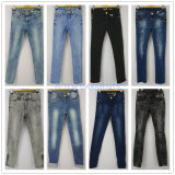 Jeans scarni della pittura ad olio per i ragazzi (121-B110)