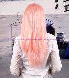 당과 성과를 위한 다채로운 방열 합성 머리 가발