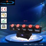 화소와 원격 제어 4PCS 12W RGBW 4in1 LED 소형 광속 이동하는 헤드로
