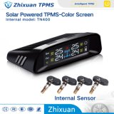 Auto Parts Sistema de monitoreo de presión de Energía Solar TPMS de Ajustable alarma de presión Valor