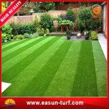 ヤードの庭の装飾的で総合的な草のカーペット