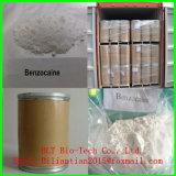 Entrega segura 200 Mesh / 400 Mesh Benzocaína 99,9% Pureza Benzocaína