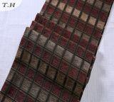 Il Chenille 2016 del tessuto del jacquard quadra il panno del sofà di colori più scuri