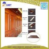 Macchina decorativa esterna di plastica dell'espulsione del comitato di parete del PVC Wood+Composite di WPC