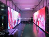 Visualización de LED comercial publicitaria delgada, 768mm*768mm*75m m
