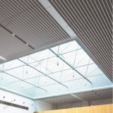 作られたデザインのアルミニウム放出のバッフルの線形天井