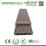 Decking composé en plastique en bois creux coloré de Decking/extérieur de plancher
