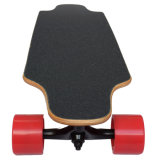 4개의 바퀴는 전기 스케이트보드 원격 제어 없이 허브 모터 이중으로 한다
