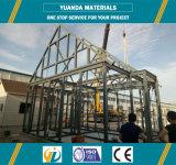 Casa prefabricada de la estructura de acero del panel de AAC