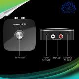 Adaptateur sans fil 3.5mm de récepteur de Bluetooth du véhicule 4.1 à l'écouteur sonore aux. de téléphone du haut-parleur MP3 de véhicule d'adaptateur de la musique 2RCA