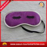 Linea aerea poco costosa Eyemask del poliestere con il disegno semplice