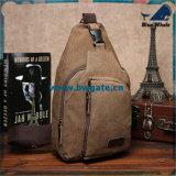 Le messager d'hommes de cru de la mode Bw1-073 met en sac le rétro sac d'épaule militaire