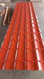 Prepaintedプロフィールかカラーステップによって艶をかけられる屋根瓦に屋根を付けること