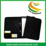 Zipper Business Leather Portfolio Dossier de dossier Organisateur PU