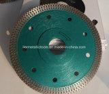 лезвия вырезывания алмазной пилы 115mm Turbo для плиток
