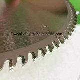 A circular de alumínio da estaca do Tct viu a lâmina