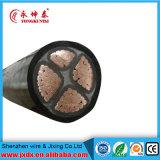 Yjv 0.6/1 da potência quilovolts de cabo de fio com o condutor do cobre da isolação de XLPE
