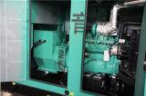 генератор 437.5kVA молчком Cummins электрический тепловозный