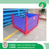 Kundenspezifischer Stahlmaschendraht-Behälter für Lager-Speicher
