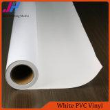 Vinilo brillante del PVC del blanco de la tinta del tinte