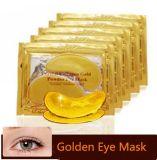máscara de olho escura dourada Nano do removedor do círculo 24k com etiqueta confidencial