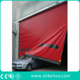 Puerta rápida de la persiana enrrollable de Aacting del PVC de la tela de la reparación industrial del uno mismo