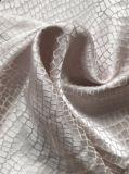 Telas do jacquard do algodão de seda