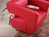 Insieme del sofà dell'unità di elaborazione del sofà del cuoio del sofà del metallo del sofà di disegno moderno