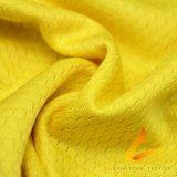 Tela elástico hecha punto de Lycra del Spandex del poliester para la aptitud de la ropa de deportes (LTT-YGZQW#)