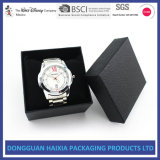 Caixa de papel do relógio feito sob encomenda da jóia da pulseira do bracelete (preto)