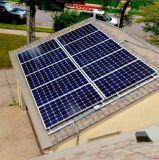 Maison en aluminium de système d'alimentation solaire du longeron 25kw de support de panneau solaire