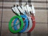 1m Androïde V8 Universeel voor van de LEIDENE van Samsung Micro- USB van de Gegevens Opvlammende Mobiele Lader van de Telefoon Kabel