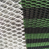 Antistatisches gestricktes Polyester-Ineinander greifen-Gewebe der Luft-3D
