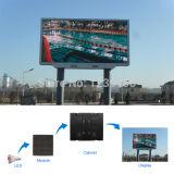 Visualización de vídeos multi de interior del color LED de P10 SMD 3in1
