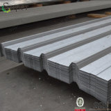 屋根ふきのための電流を通された亜鉛上塗を施してある波形の鋼板