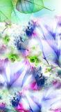 Madame neuve d'Elegent d'impression de fleur Silk Shawl avec l'impression de Digitial