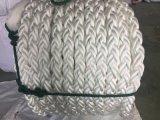 волокно 8-Strand Ropes веревочка нейлона веревочки полиэфира веревочки PP веревочки зачаливания